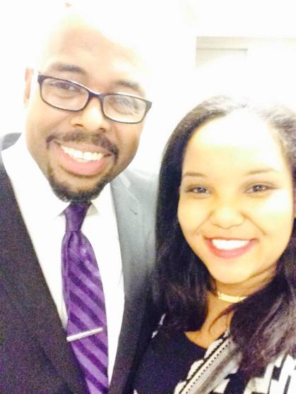 Selfie, with the great bassist, Mr. Christian McBride, March 2016