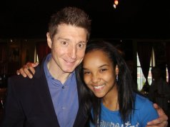 Meeting future teacher, pianist, Benny Green for the 1st time, following his Jazz Showcase performance, May 2011