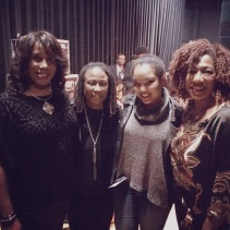 In Detroit with my role models! (l-r) Drummer, Ms. Gayelynn McKinney; Pianist, Ms. Geri Allen; and Bassist, Ms. Marion Hayden, Mar. 2016