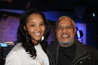 With Mr. Willie Pickens following the 2014 Luminarts Jazz Improvization Competition at Buddy Guys Legends, Feb. 2014